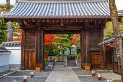 Templo de Kiyomizu-dera em Kyoto fotografia de stock