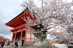 Templo de Kiyomizu, Japón Foto de archivo
