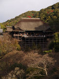 Templo de Kiyomizu, Kyoto Japón Imagen de archivo
