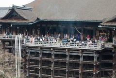 Templo de Kiyomizu, Kyoto, Japón Imagenes de archivo