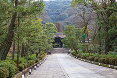 Templo de Kodai-ji Fotografía de archivo