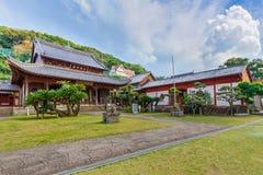Templo de Kofuku-ji em Nagasaki foto de stock