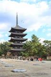 Templo de Kofukuji Imagem de Stock