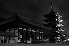 Templo de Kofukuji, Nara foto de stock