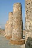 Templo de Kom Ombo Fotografía de archivo libre de regalías