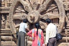 Templo de Konarak Sun Imagens de Stock