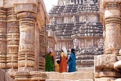 Templo de Konarak Sun Imagem de Stock Royalty Free