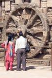 Templo de Konarak Sun Fotos de Stock Royalty Free