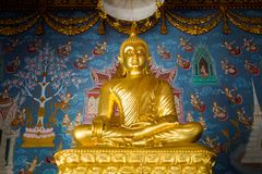 Templo de Krabi Wat Kaew Korawaram imagenes de archivo