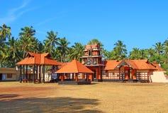 Templo de Krishna Templo de Manthara La India Fotografía de archivo