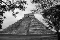 Templo de Kukulcan em Chichen Itza, México Imagens de Stock Royalty Free