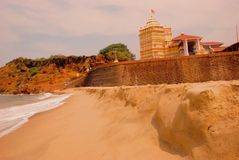 Templo de Kunkeshwar Fotos de archivo