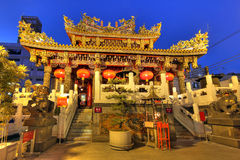 Templo de Kwan Tai, Yokohama, Japón Fotografía de archivo