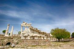 Templo de la acrópolis, griego clásico Imagen de archivo libre de regalías