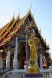 Templo de la American National Standard de la estatua, Tailandia Imagenes de archivo
