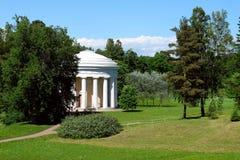 Templo de la amistad en Pavlovsk, Rusia Fotografía de archivo libre de regalías