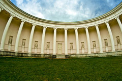 Templo de la antigüedad Fotografía de archivo libre de regalías