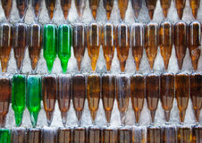 Templo de la botella de cristal Imágenes de archivo libres de regalías