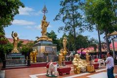 Templo de la capilla de Pattaya, Tailandia Fotografía de archivo