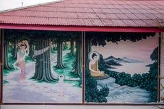 Templo de la capilla de Pattaya, Tailandia Imagen de archivo