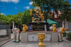 Templo de la capilla de Pattaya, Tailandia Imagen de archivo libre de regalías