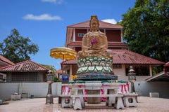 Templo de la capilla de Pattaya, Tailandia Imágenes de archivo libres de regalías