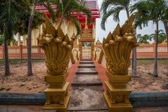 Templo de la capilla de Pattaya, Tailandia Foto de archivo