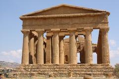Templo de la concordia Foto de archivo