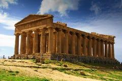 Templo de la concordia - Sicilia Fotos de archivo libres de regalías