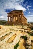 Templo de la concordia - Sicilia Fotografía de archivo