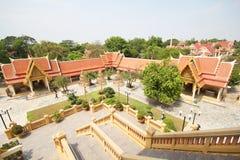 Templo de la correa de Pikul, Singburi Tailandia Foto de archivo