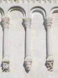 Templo de la cubierta en Nerli Fotos de archivo libres de regalías