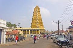 Templo de la diosa Chamunda Fotografía de archivo