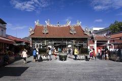 Templo de la diosa de la misericordia en Penang Malasia Imágenes de archivo libres de regalías
