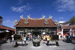 Templo de la diosa de la misericordia en Penang Malasia Imagenes de archivo