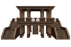 Templo de la fantasía Imágenes de archivo libres de regalías