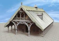 Templo de la fantasía Foto de archivo