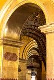 Templo de la imagen de Mahamuni, Mandalay, Myanmar fotografía de archivo