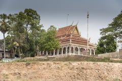 Templo de la isla cerca de Siem Reap Imagen de archivo libre de regalías