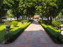 Templo de la literatura en Hanoi imagen de archivo libre de regalías