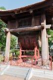 Templo de la literatura, la furgoneta Mieu, en el centro de Hanoai fotos de archivo