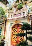 Templo de la literatura, la furgoneta Mieu, en el centro de Hanoai fotos de archivo libres de regalías