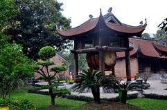 Templo de la literatura, Hanoi Fotos de archivo