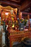 Templo de la literatura, Van Mieu, Hanoi imagen de archivo