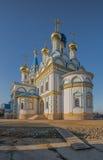 Templo de la madre de dios Fotos de archivo