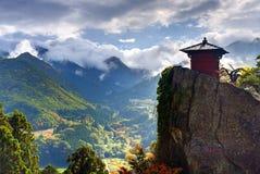Templo de la montaña Fotografía de archivo