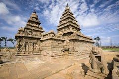 Templo de la orilla - Tamil Nadu - la India fotos de archivo libres de regalías