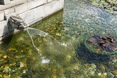 Templo de la piscina Fotos de archivo libres de regalías