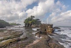 Templo de la porción de Tanah Fotografía de archivo libre de regalías
