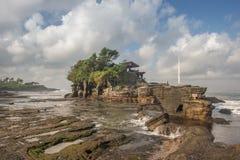 Templo de la porción de Tanah Imagen de archivo libre de regalías